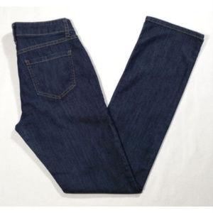 CAbi Jeans #334 Lou Lou Straight Mid Rise 1744E1